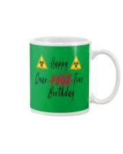 Happy Quar-Four-Tine Birthday Mug tile