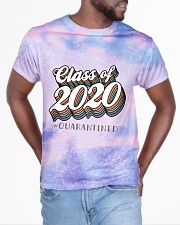 Class of 2020 quarantined tie dye sparkling All-over T-Shirt aos-all-over-T-shirt-lifestyle-front-04