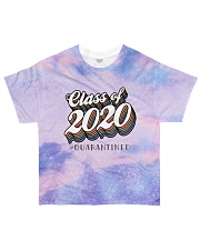 Class of 2020 quarantined tie dye sparkling All-over T-Shirt front