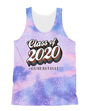 Class of 2020 quarantined tie dye sparkling All-Over Unisex Tank tile