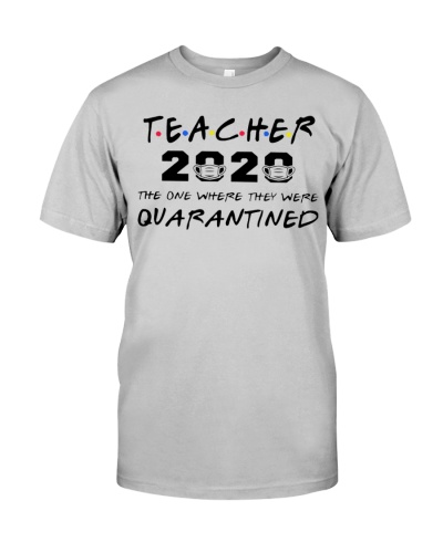 Teacher 2020 the one where they were quarantined