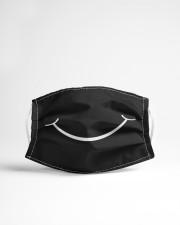 Retro Smiley Face Mask Cloth face mask aos-face-mask-lifestyle-22