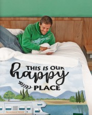 """Personalized Camping Blanket 7 Large Sherpa Fleece Blanket - 60"""" x 80"""" aos-sherpa-fleece-blanket-60x80-lifestyle-front-07"""