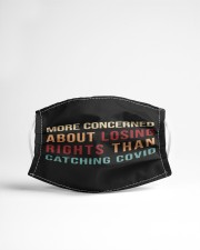 More concerned about losing rights than catching Cloth face mask aos-face-mask-lifestyle-22