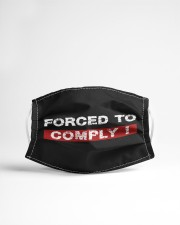 Forced To Comply Cloth face mask aos-face-mask-lifestyle-22