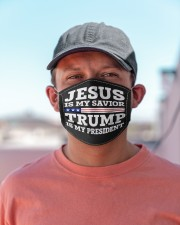 JESUS IS MY SAVIOR Cloth face mask aos-face-mask-lifestyle-06