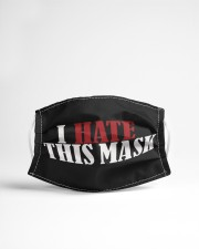 I Hate This mask Cloth face mask aos-face-mask-lifestyle-22