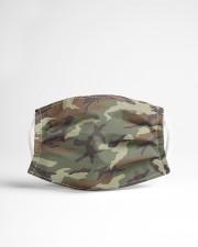 Patriotic  - Military Camo Green Cloth face mask aos-face-mask-lifestyle-22
