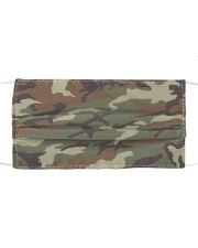 Patriotic  - Military Camo Green Cloth face mask front