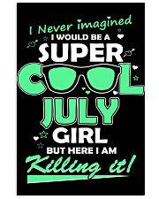 Super cool July Girl 11x17 Poster thumbnail
