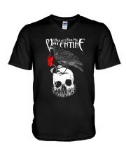 pugs V-Neck T-Shirt thumbnail