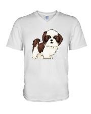 shihtzu V-Neck T-Shirt thumbnail