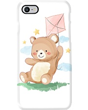 Funny animals bear watercolor-6 Phone Case thumbnail