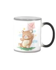 Funny animals bear watercolor-6 Color Changing Mug thumbnail