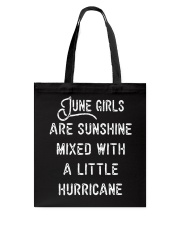 June girls Tote Bag tile