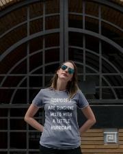 Scorpio girls  Ladies T-Shirt lifestyle-women-crewneck-front-1
