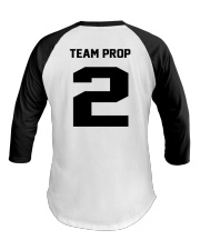 Utah Satire Team Prop 2 Jersey Baseball Tee back