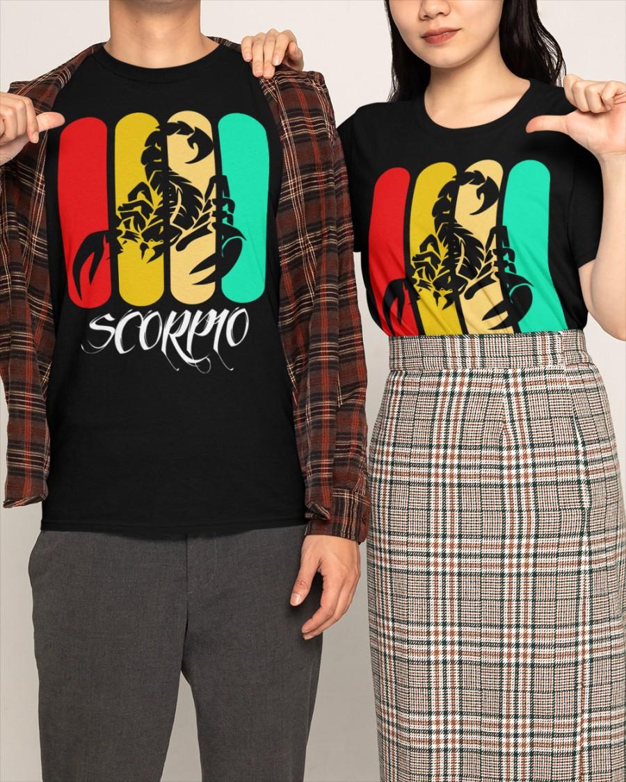 Vintage scorpio shirt Classic T-Shirt