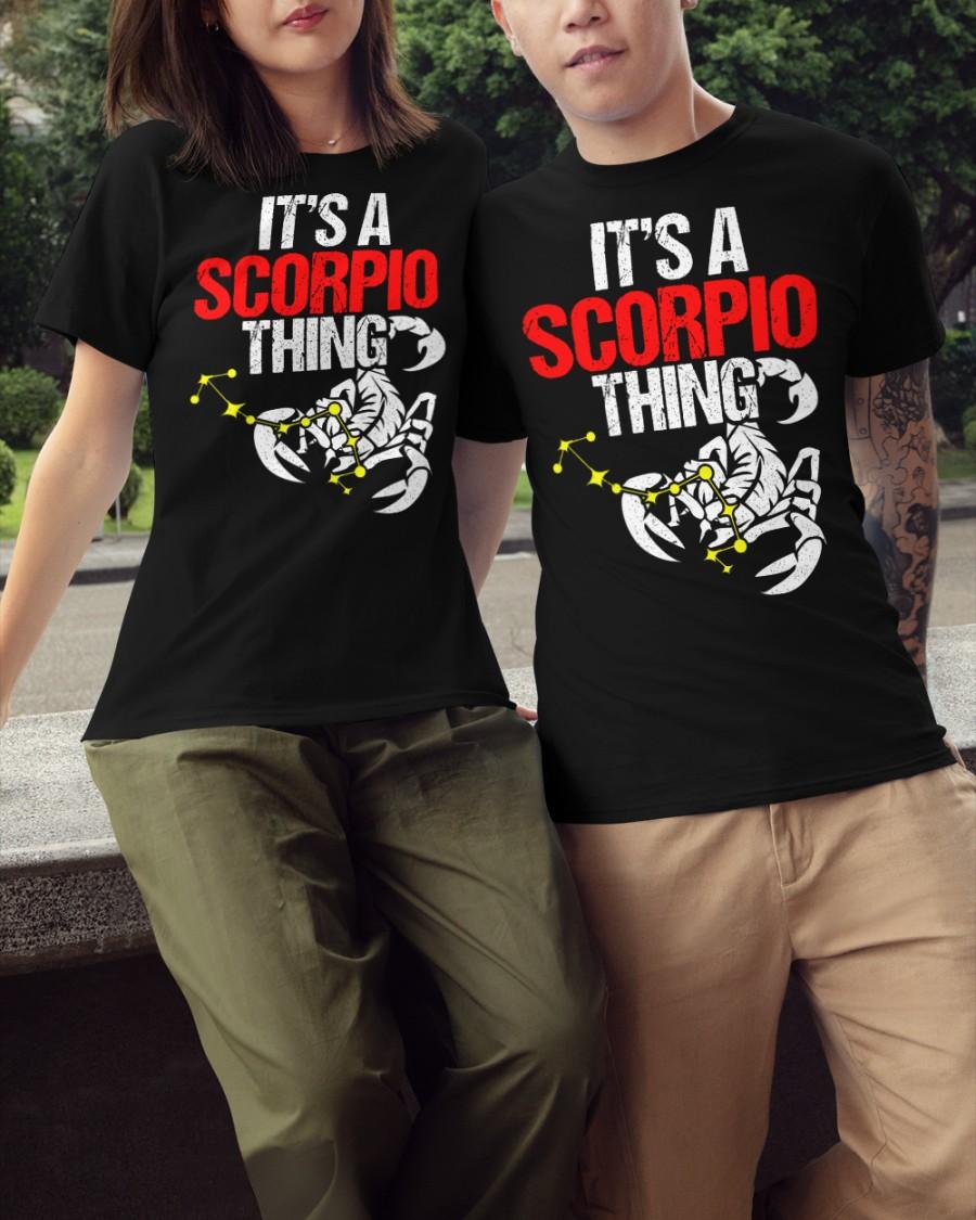 It's a scorpio things Classic T-Shirt