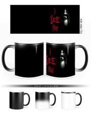Halloween I see you creepy eyes magic mug Color Changing Mug ceramic-color-changing-mug-lifestyle-45