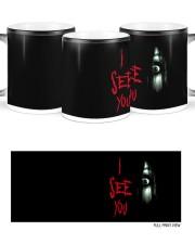 Halloween I see you creepy eyes magic mug Color Changing Mug ceramic-color-changing-mug-lifestyle-47