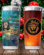 Lion Dad To My Son Never Forget That I Love You Tumbler 20oz Tumbler aos-20oz-tumbler-lifestyle-front-100