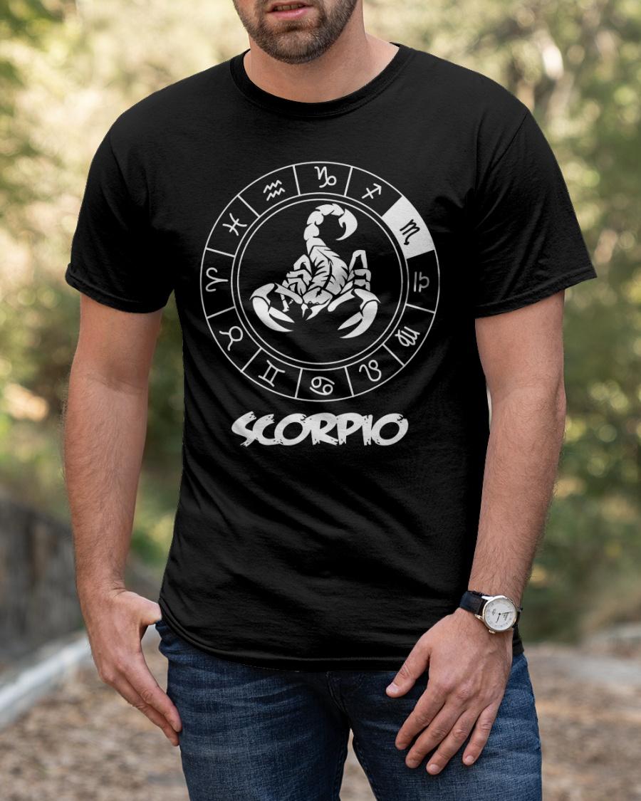 Born as scorpio Classic T-Shirt