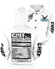 Chef Nutrition Facts 3D Personalized Hoodie  Men's All Over Print Hoodie aos-men-hoodie-ghosted-front-05