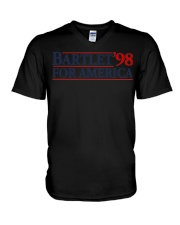 Bartlet for America Slogan t shirt The West Wing V-Neck T-Shirt thumbnail