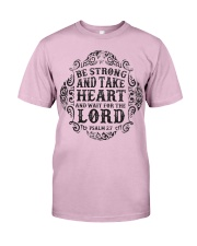 Strong Heart Lord Classic T-Shirt front