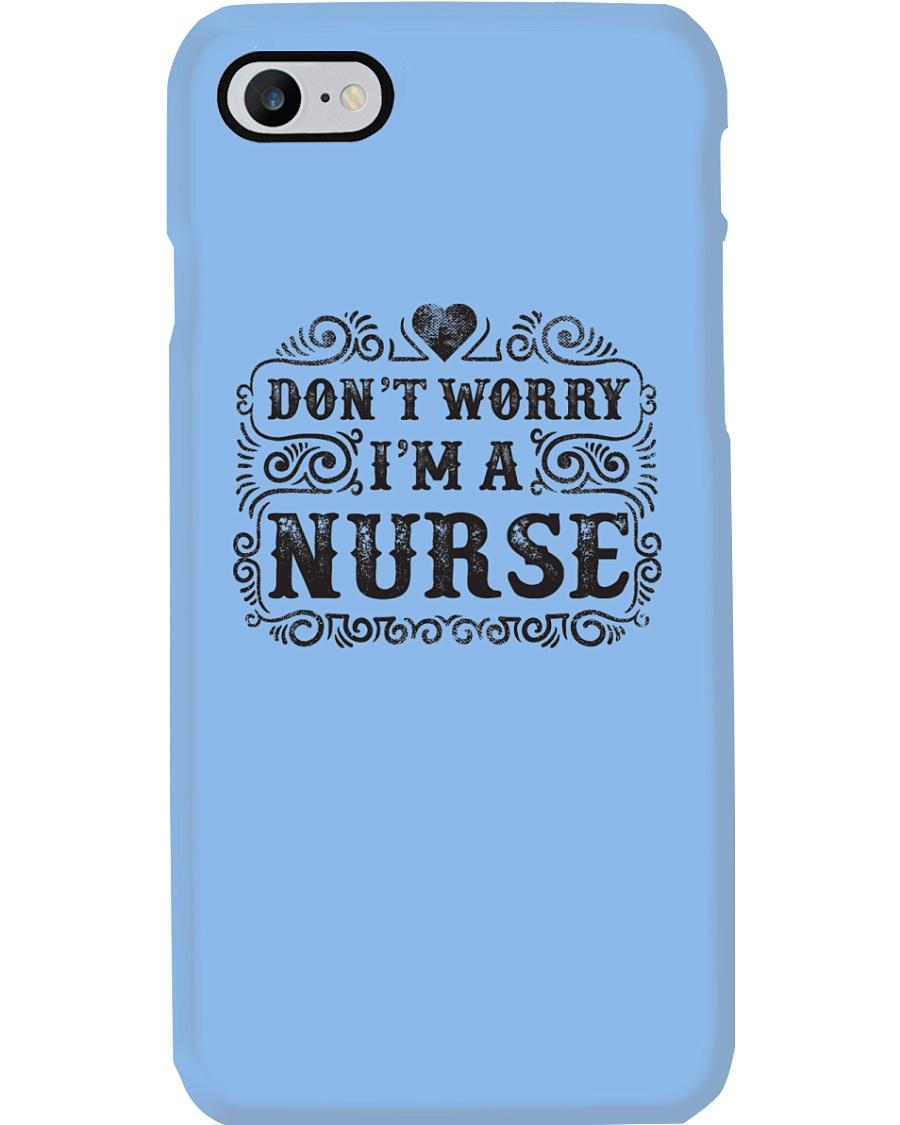 I Am A Nurse So Worry No More Phone Case