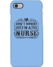 I Am A Nurse So Worry No More Phone Case i-phone-7-case