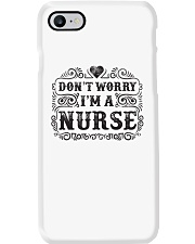 I Am A Nurse So Worry No More Phone Case thumbnail