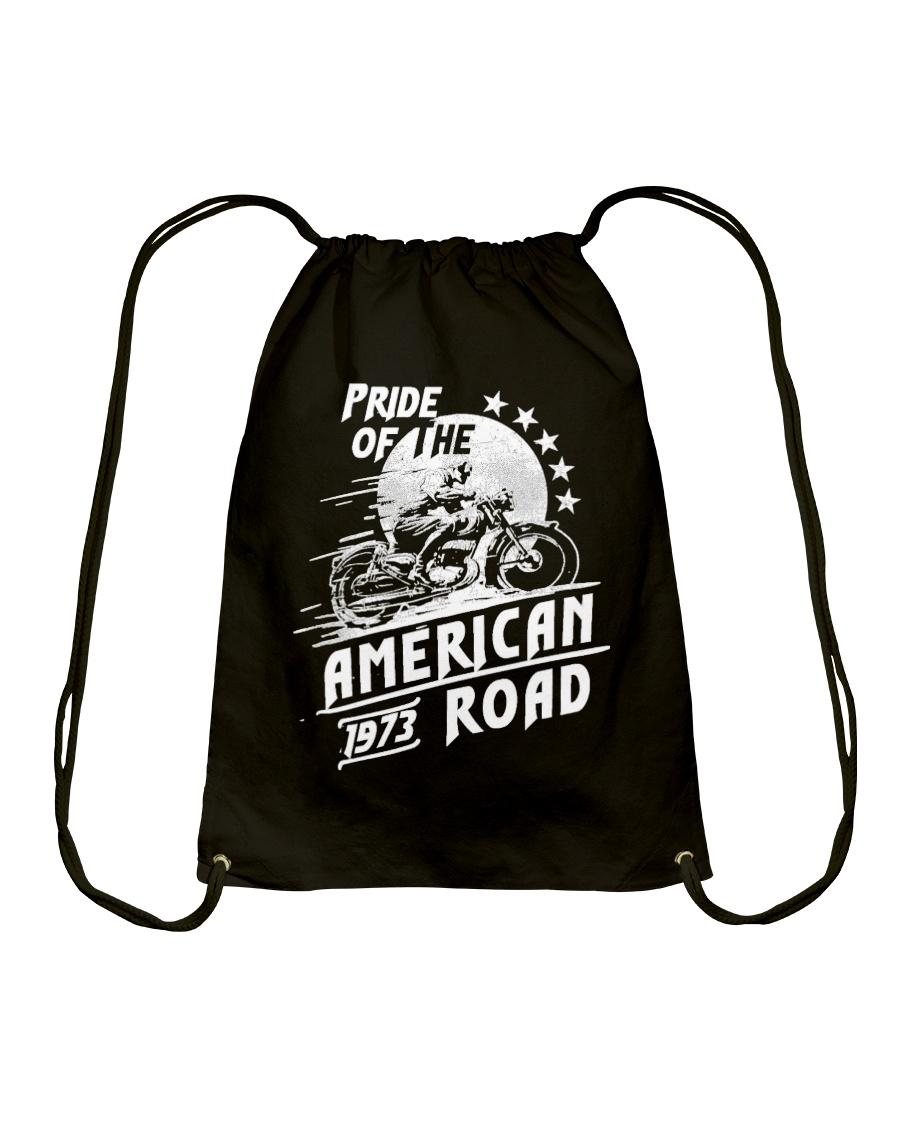 American Road 1973 Drawstring Bag