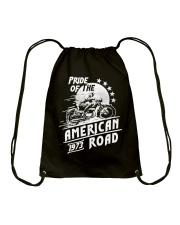 American Road 1973 Drawstring Bag front