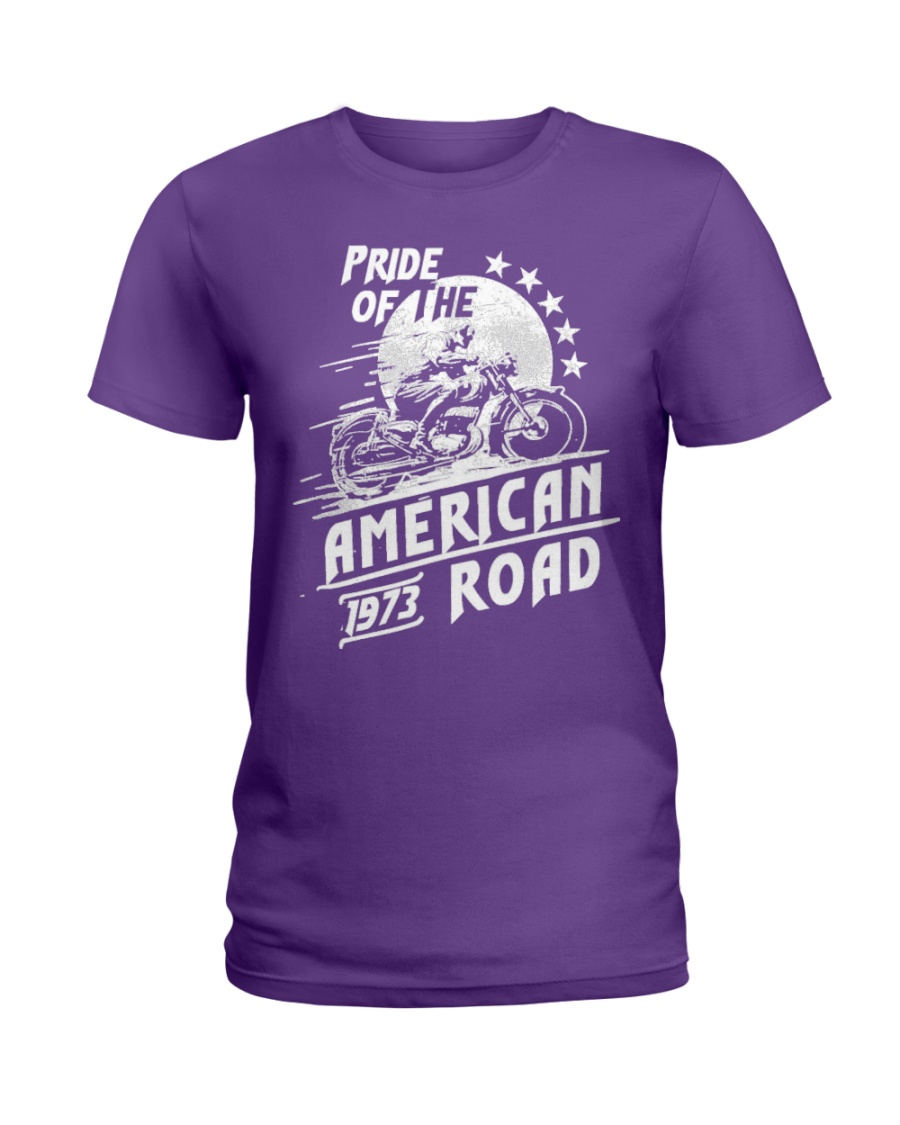 American Road 1973 Ladies T-Shirt