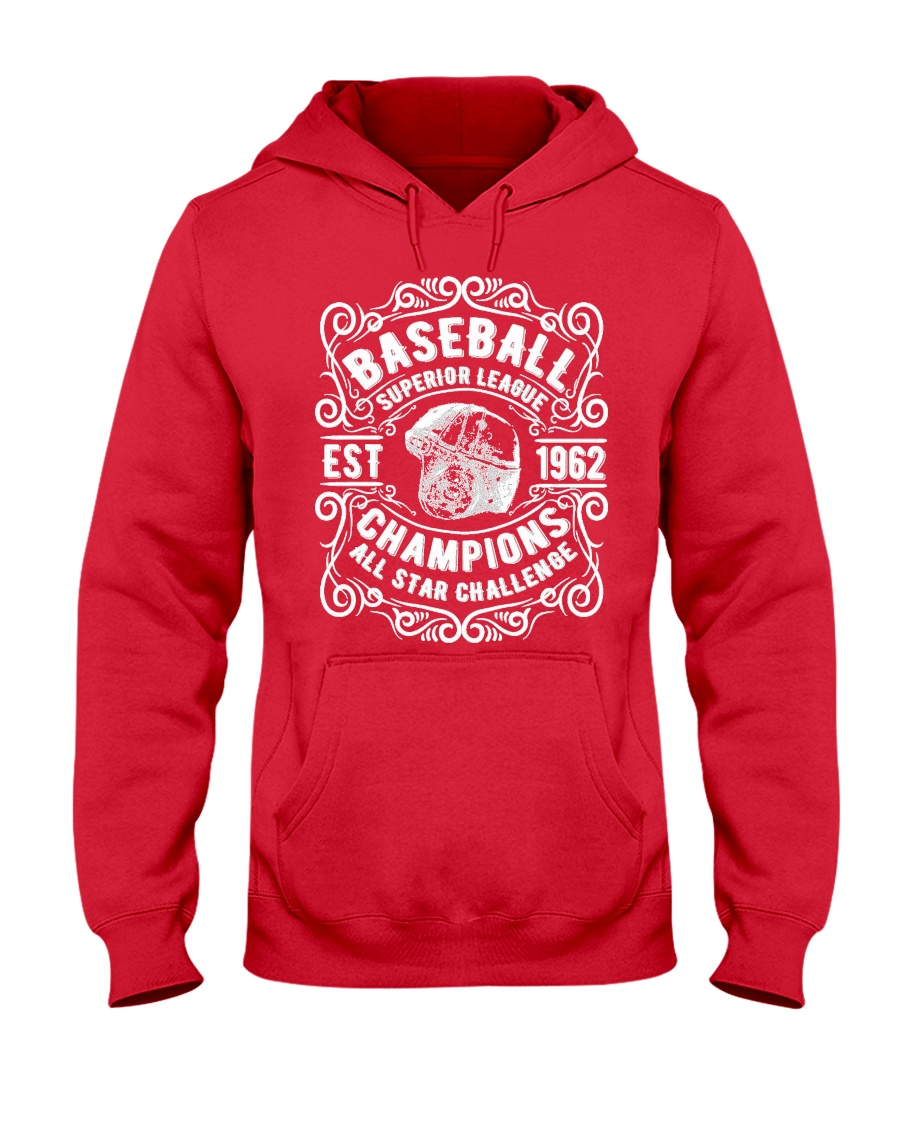 Baseball Champion 1962 Hooded Sweatshirt