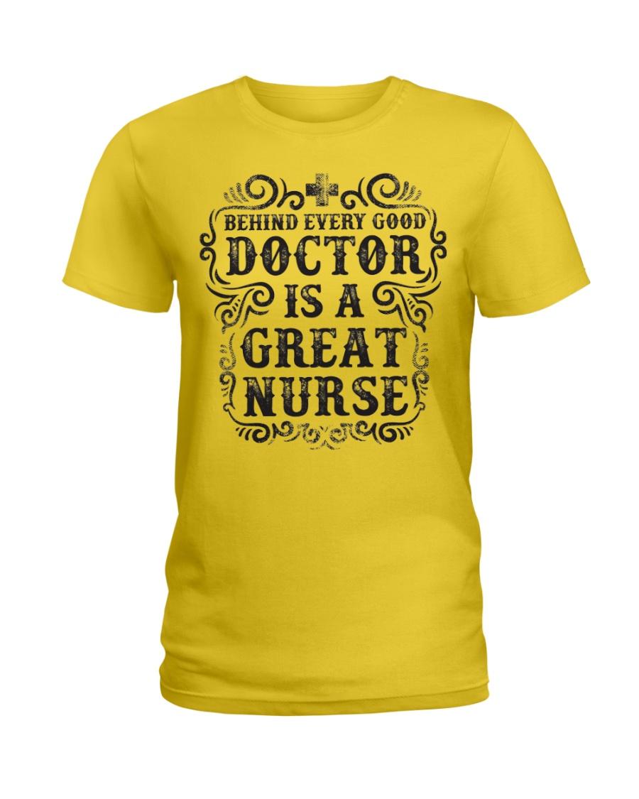 Doctors Are Great Nurses Ladies T-Shirt