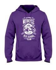 Motorcycle Old School Hooded Sweatshirt front