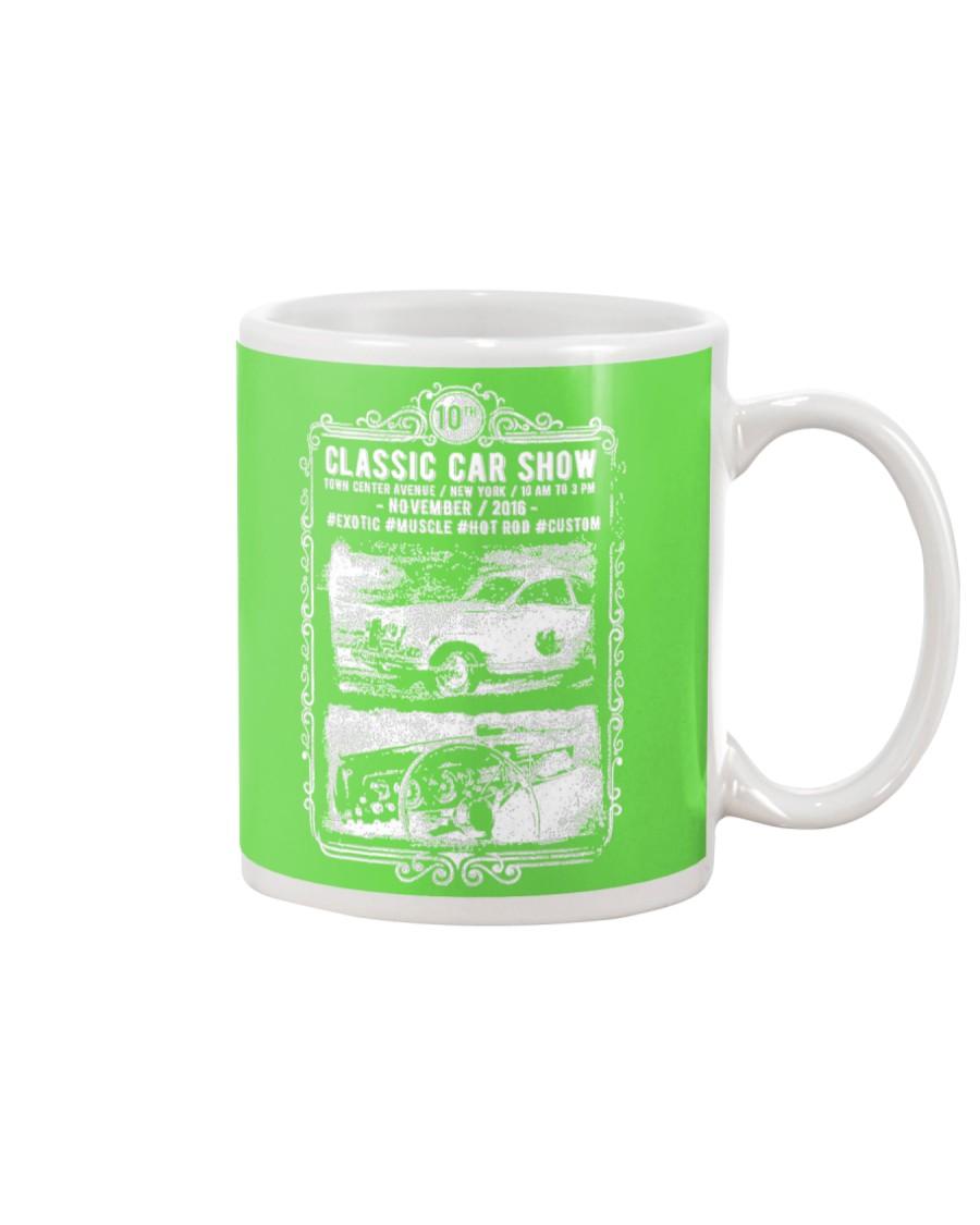 Classic Show of Cars Mug