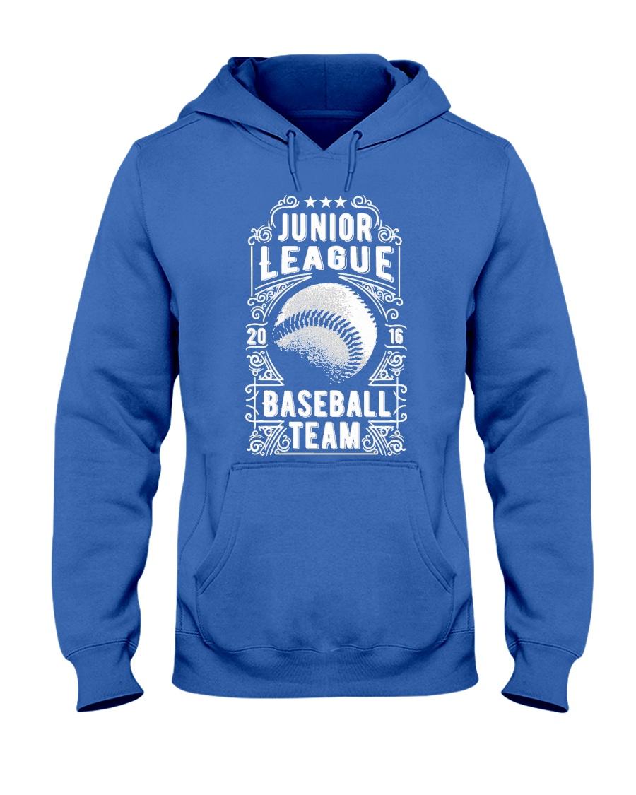 Baseball Team - Junior League Hooded Sweatshirt
