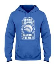 Baseball Team - Junior League Hooded Sweatshirt front