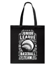 Baseball Team - Junior League Tote Bag thumbnail