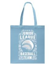 Baseball Team - Junior League Tote Bag front