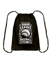Baseball Team - Junior League Drawstring Bag thumbnail