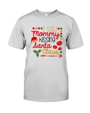 I saw mommy kissing Santa Claus Premium Fit Mens Tee thumbnail
