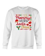 I saw mommy kissing Santa Claus Crewneck Sweatshirt thumbnail