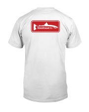 MNST Red Logo 2 Apparel Classic T-Shirt back