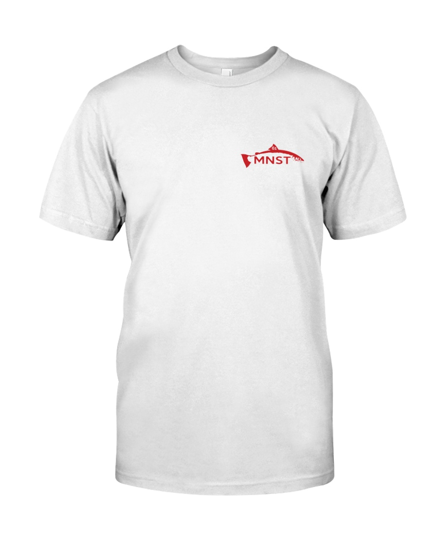 MNST Red Logo 2 Apparel Classic T-Shirt