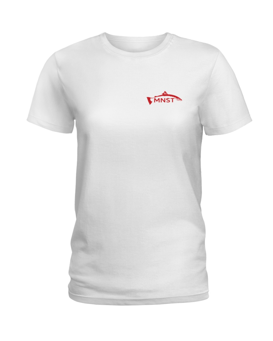 MNST Red Logo 2 Apparel Ladies T-Shirt